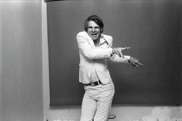 Steve Martin, Los Angeles 1977  by Norman Seeff