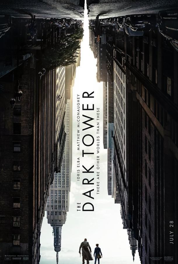"New and first poster of the movie ""The Dark Tower""."