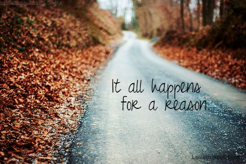 it all happens for a reason quotes nature lifequotes