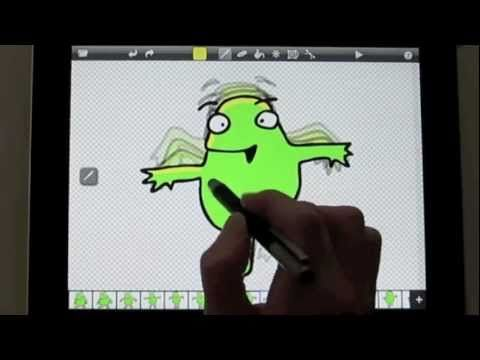 Create Animations on the iPad with DoInk Animation & Drawing App and Wacom Bamboo Stylus