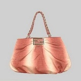 Fendi First Choice for The Season 2293 orange cloth leather with single shoulder bag