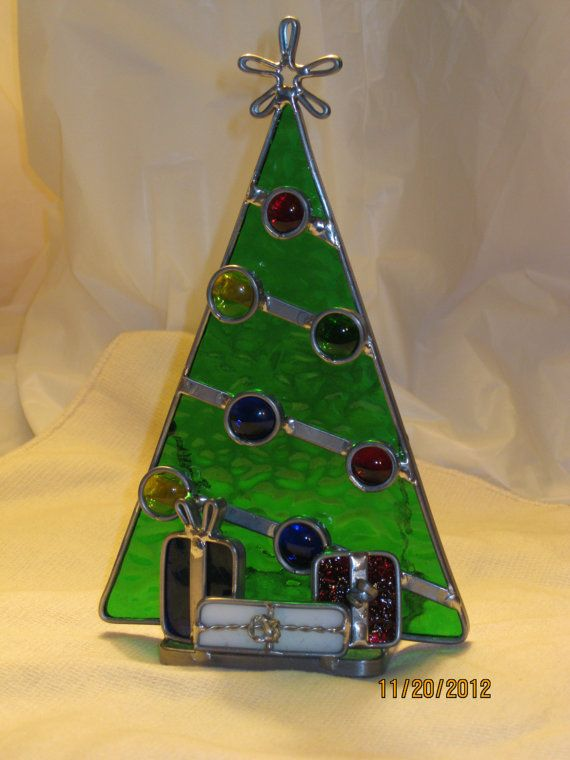 stained glass christmas tree - Google Search