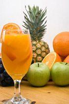 narancs alma ananász turmix