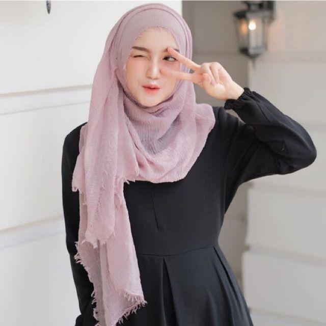 Tutorial Hijab Turki Pashmina Wanita Mode Wanita Pakaian