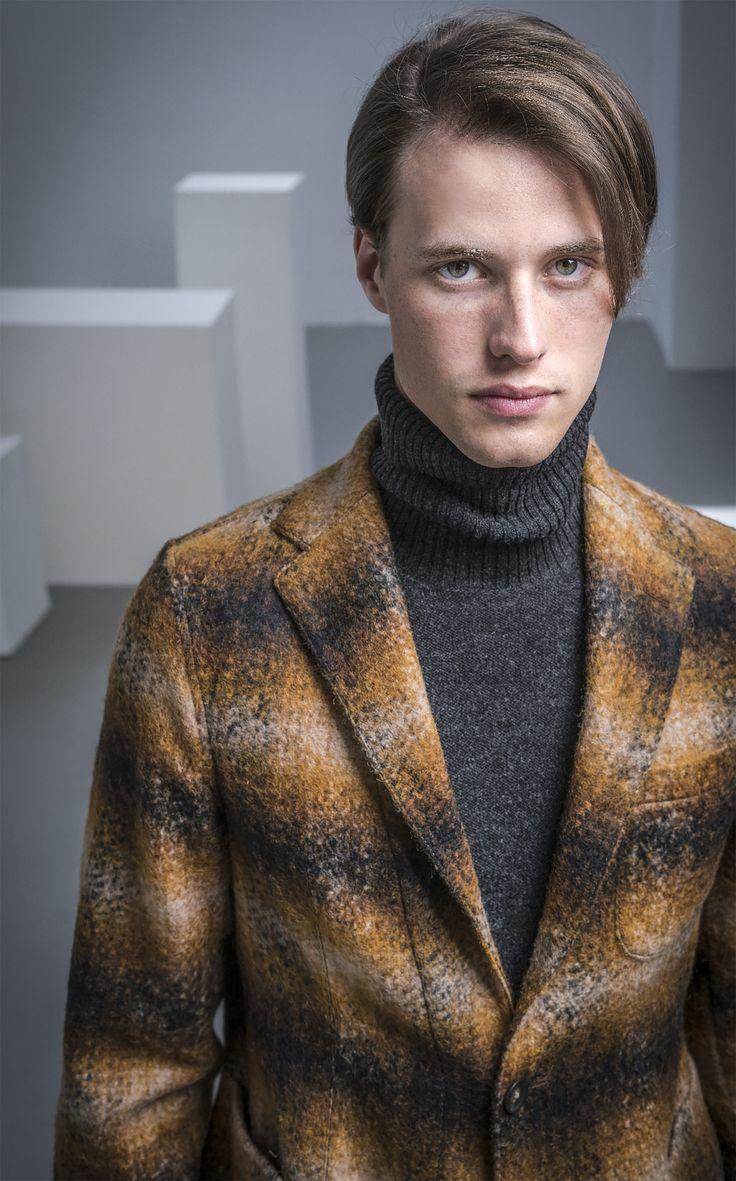 Autumn Forrest inspiration for the Angie Jacket and Blake sweater.  #thegigi #menswear #mensfashion #dontlookback