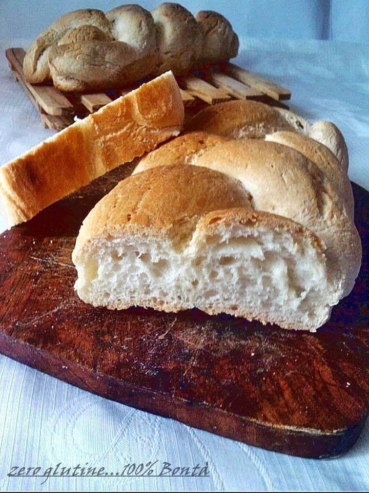 Treccia di pane senza glutine