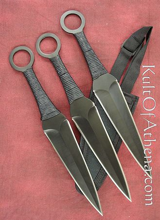 throwing knives - for the siblings