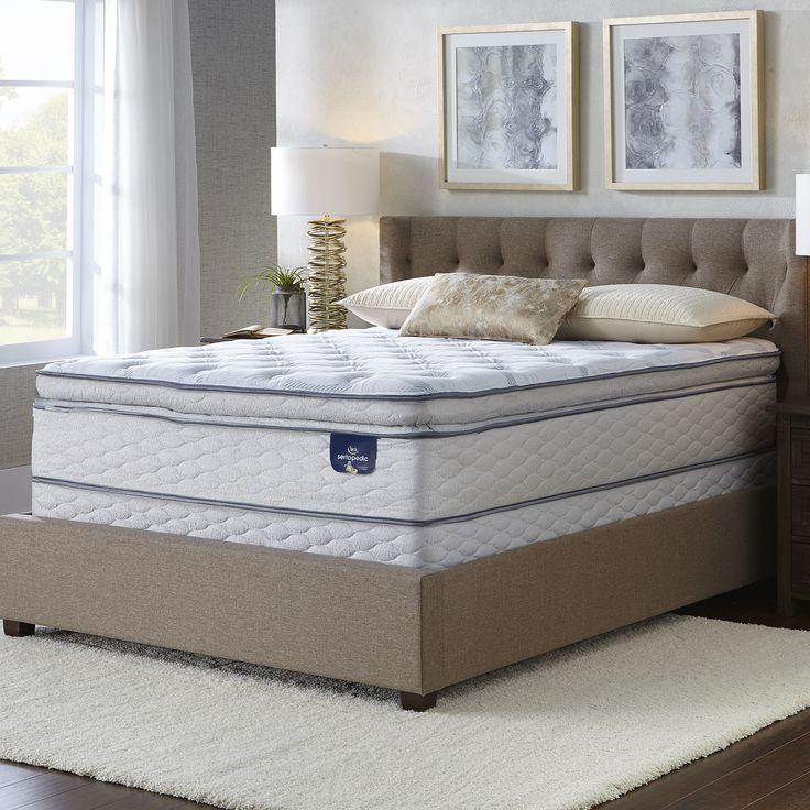 Serta Westview 12.5-inch Super Pillowtop Firm California King-size Mattress (Cal King), White