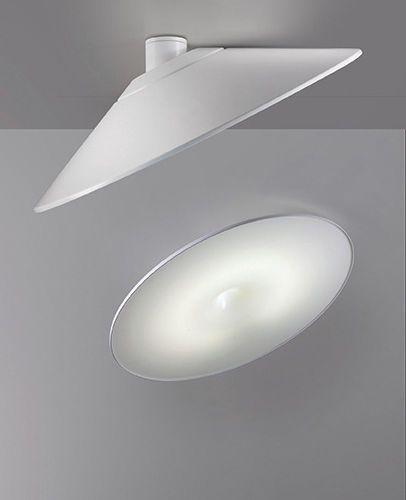 Contemporary ceiling light / round / aluminum / LED KAPPA 5227 5228 Egoluce