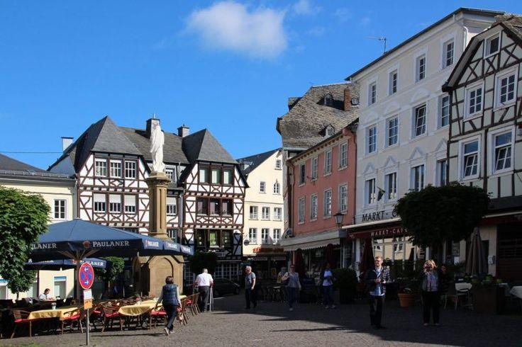 Marktplatz von Linz am Rhein