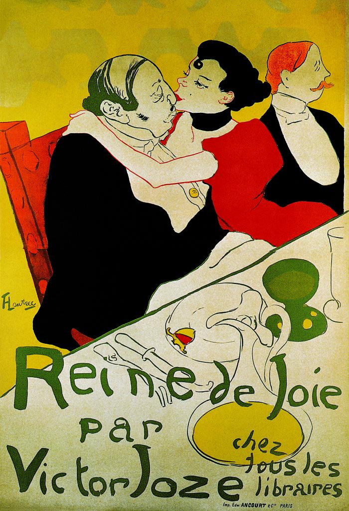 Version 1 Moulin Rouge HENRI de TOULOUSE-LAUTREC Belle Epoque Poster