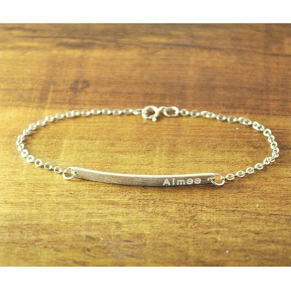 best 25 engraved bracelet ideas on pinterest initial
