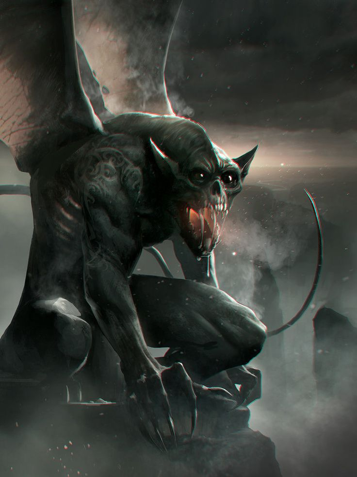fantasy gargoyle | Gargoyle by leopardsnow on deviantART