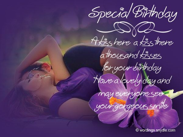Romantic Birthday Wishes, Messages for Him and Her | Wordings and Messages