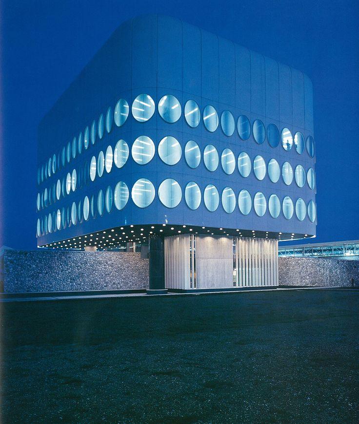 Snaidero Office Building - Majano, Italy - Angelo Mangiarotti - 1978