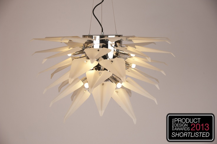 The Concorde Suspension Lamp Model Isabella. Design by Gabriel Nigro. Manufactured by Verpan. Shortlisted at The International Design Awards 2013.