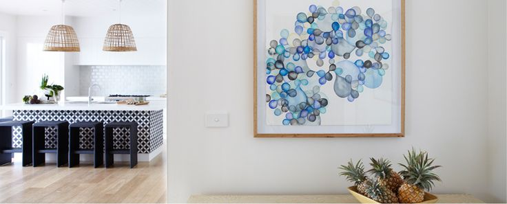 Interior Living Room Photo of The Lodge with Serena Mitnik-Miller Artwork