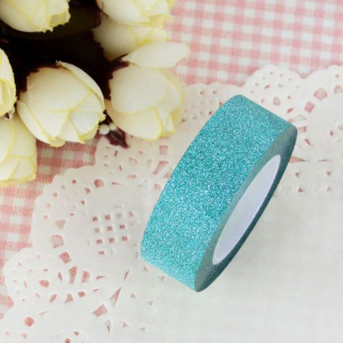 5-Colors-10m-Craft-Glitter-Washi-Tape-Book-Decoration-DIY-Adhesive-Paper-Sticker