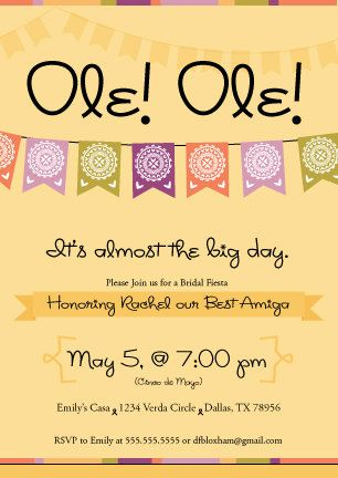 97 best Cinco de Mayoideas images on Pinterest Mexican fiesta - best of invitation wording ideas for graduation party