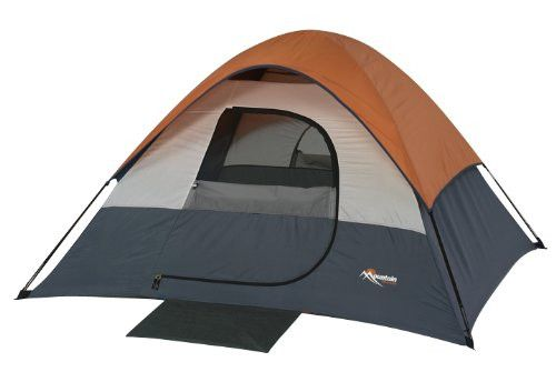 Mountain Trails Twin Peak Sports Dome 3 Person Outdoor Camping Hiking Tent