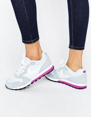 Nike Md Runner Trainers In Blue Tint
