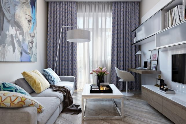 O amenajare tinereasca intr-un apartament de 2 camere- Inspiratie in amenajarea casei - www.povesteacasei.ro