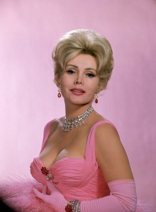 Zsa Zsa Gabor - Glamorous beauty and sometime actress best remembered for slapping a Beverly Hills policeman in the 1990's.