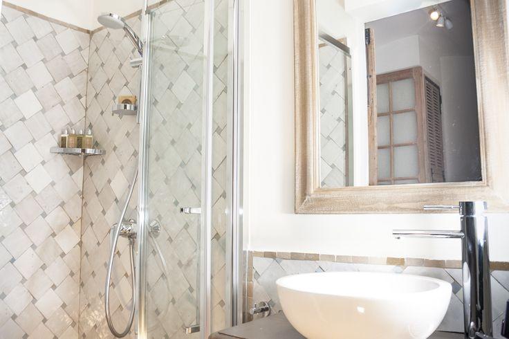 Beautiful zelige bathrooms from #antibesrental