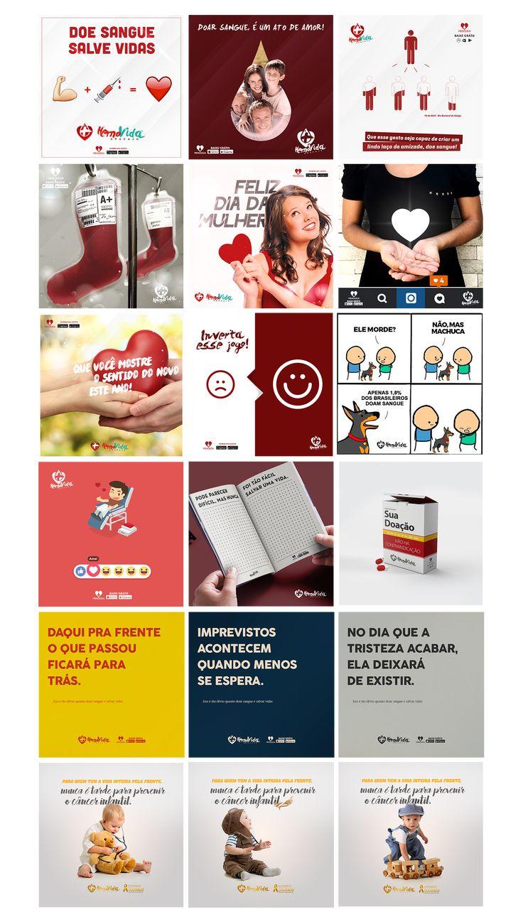 Social Media - HEMOVIDA on Behance