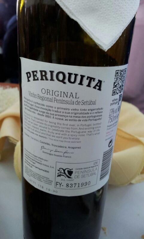 Periquita (vinho de Setubal - Portugal-)