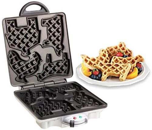 Cow waffles anyone... omg I want!!!