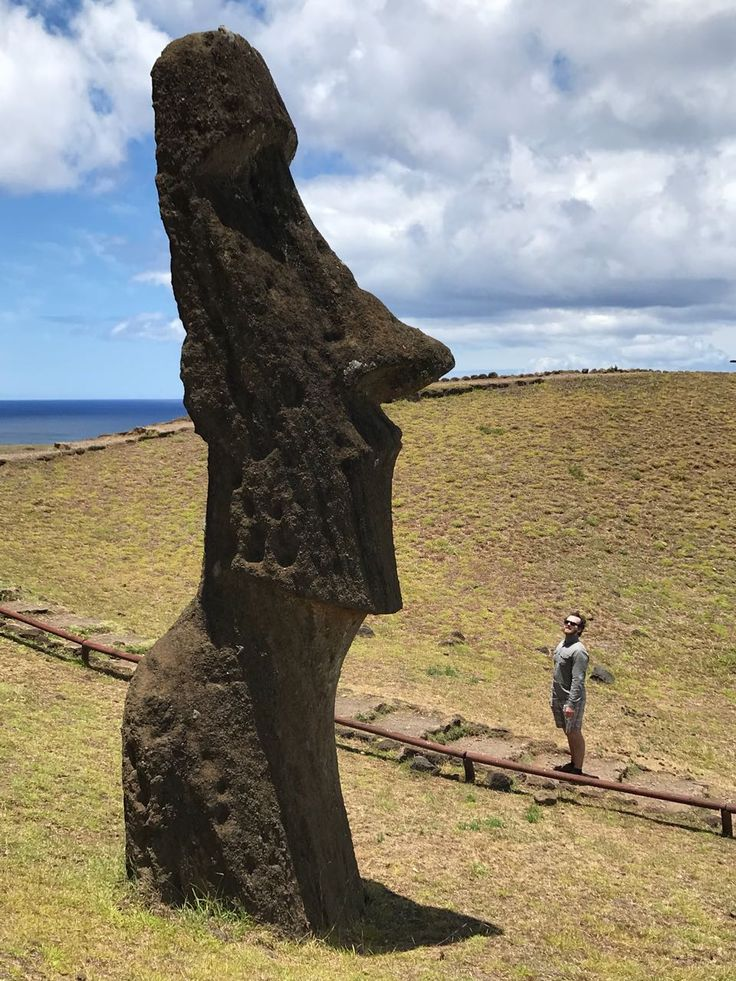 """Tour B: """"Megaliths"""", will take you eastward along the south coast. All statues were carved here, one day the workers stopped, and the hundreds of statues that were left behind haven't moved since! Huge ah? :O"""