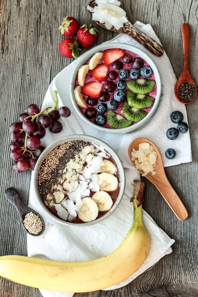 Die Glücklichmacherei: Was fürs Frühstück 〖Smoothie Bowl〗