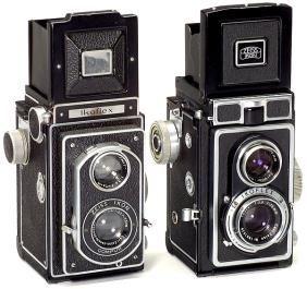2 Zeiss Ikon Ikoflex TLR-Kameras