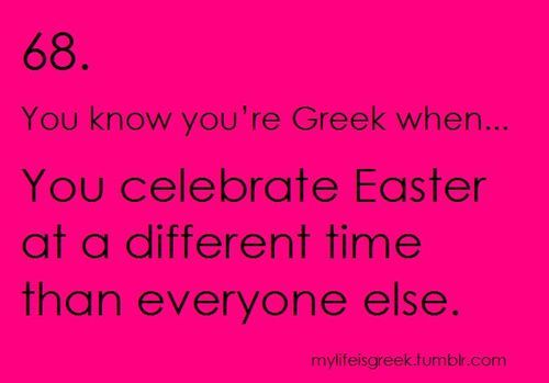 Yes, we Greeks know what is really going on! #TrueFaith #Orthodoxy #CorrectCalender