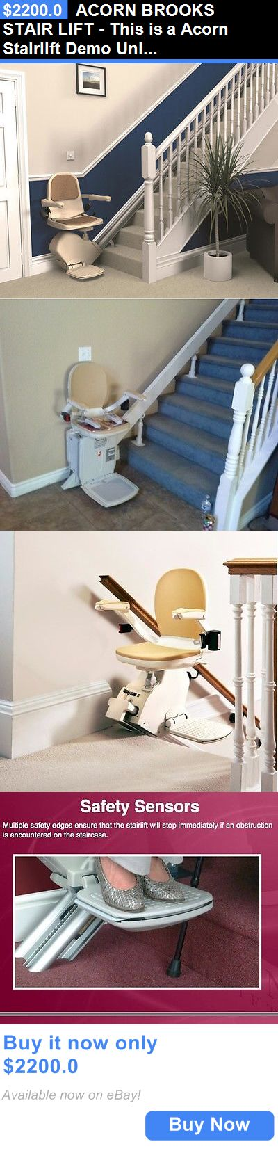 Stairlifts and Elevators: Acorn Brooks Stair Lift - This Is A Acorn Stairlift Demo Unit. Left Hand BUY IT NOW ONLY: $2200.0