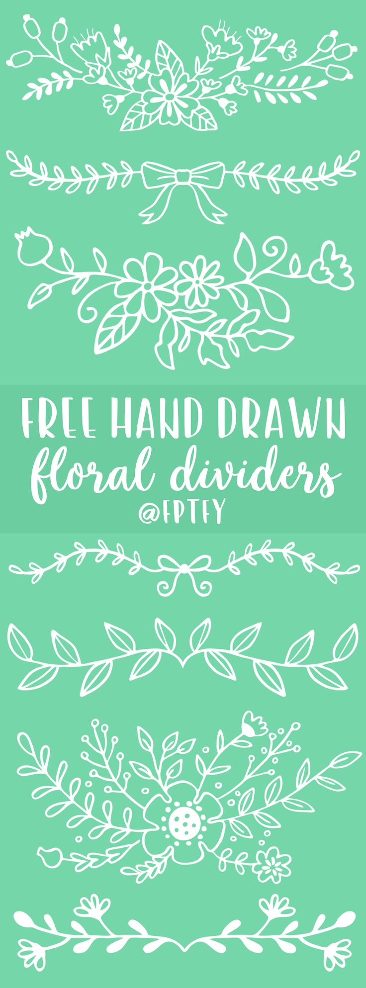 Free Hand Drawn Floral Divider Images: These lovely floral divider images are yours for the taking! You could use them I many different ways- as overlays on pictures, stickers, journaling decoration and so on! To download click here!   Be Sure To Subscribe To Receive  Exclusive Freebies and Post! :) Enjoy!   …………………………………………………………………………………………………………………… Forasmuch as ye...Read More »