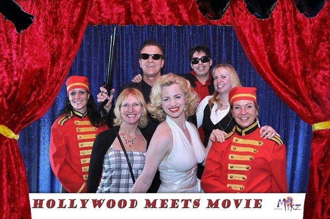 Hollywood Meets Movie themafeest met Marilyn Monroe, Prince, film muziek, rode loper, foto's maken, piccolo's en meer. http://www.funenpartymatch.nl/hollywoodmeetsmovie.php