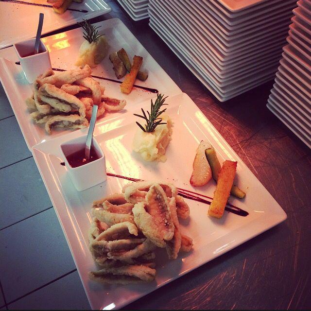 Nos FAMEUX Filets de Perche frits et leur Sauce Thaï