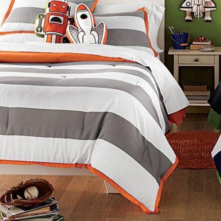 Whole Home Kids(TM/MC) 'Bold Stripe' Duvet Cover Set - Sears | Sears Canada