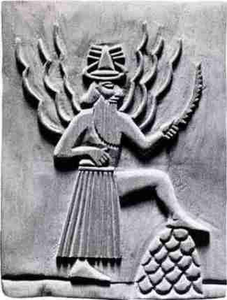 Utu, Sumerian Sun god of Justice                              …