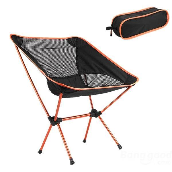 Outdoor Portable Folding Chair Aluminum Sport Camping Picnic BBQ Sale - Banggood.com