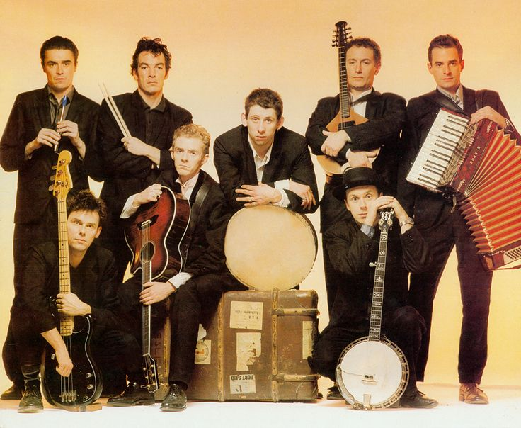 #CPirishluck  and who can deny the charismatic punk rock traditional Irish sounds of The Pogues??