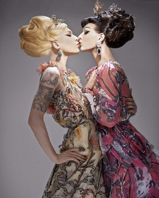 Violet Chachki and Miss Fame