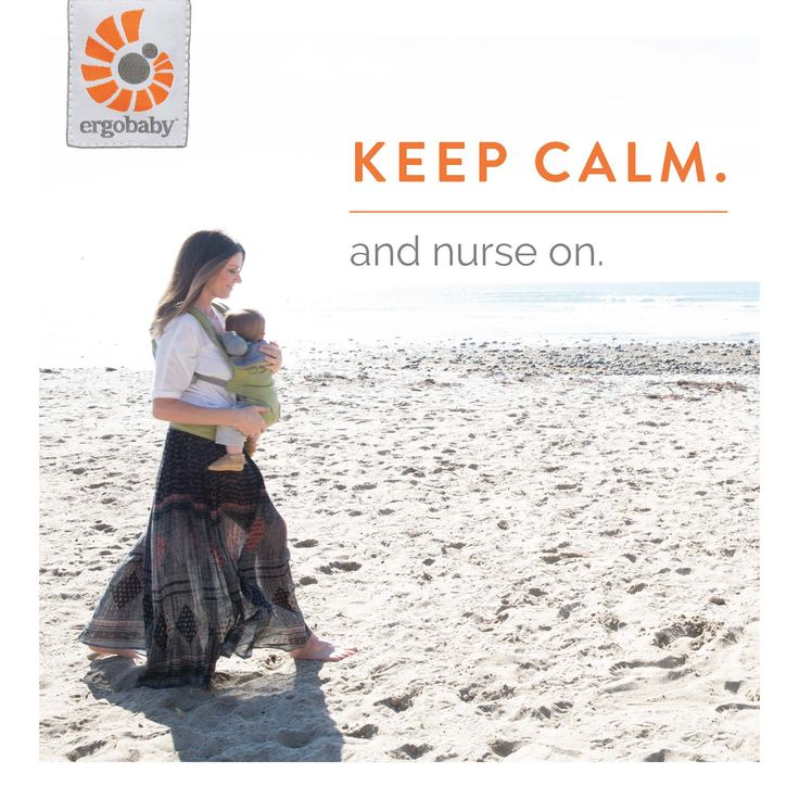 Tips for nursing in an Ergobaby carrier
