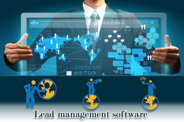 Lead management software for website integration