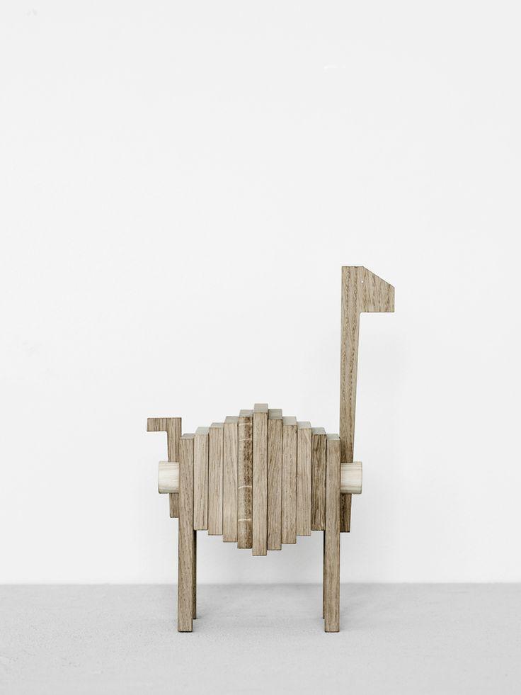 Moebe | Polygrif Wooden Sculpture - Scandikid