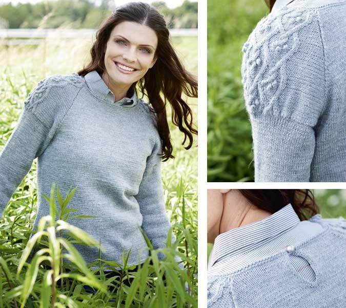 Схема Вязания, Пуловеры На