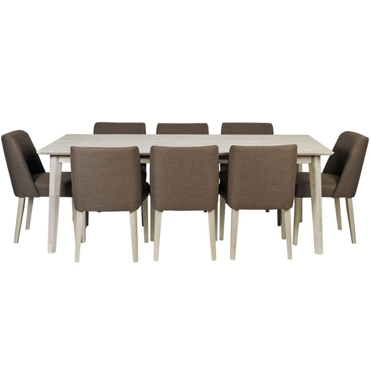 Seattle 9 Piece Dining Setting