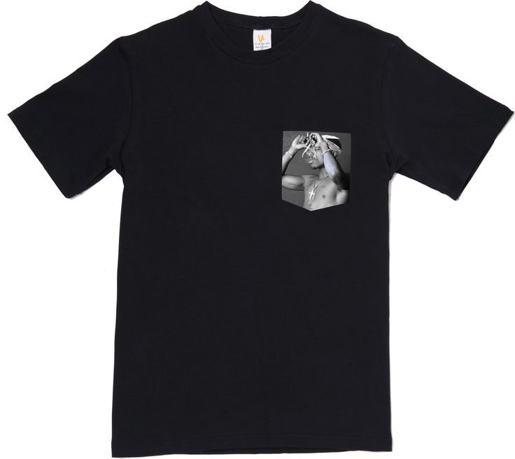 2pac Better Dayz Pocket Tee T-Shirt